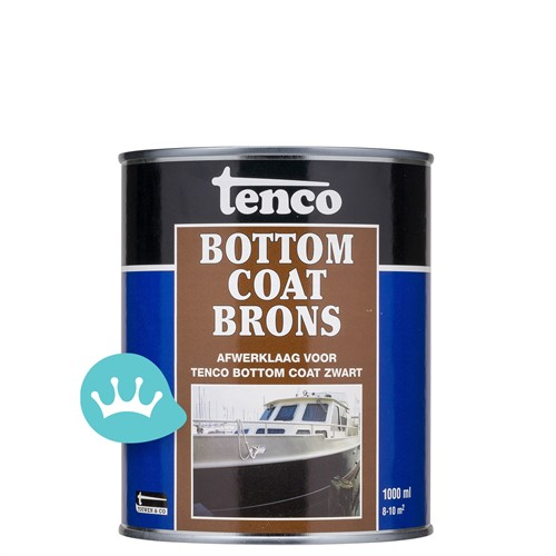 Tenco Bottomcoat - Teervrij - Brons - 1 l