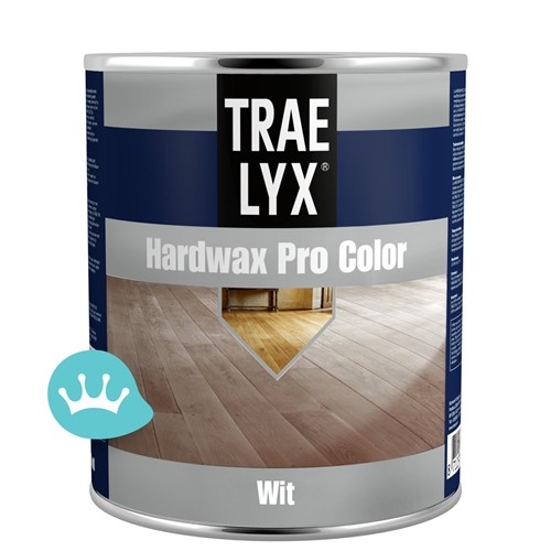 Trae Lyx Hardwax Pro Color - Wit - 750 ml