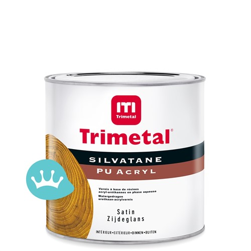 Trimetal Silvatane PU Acryl Satin - 500 ml