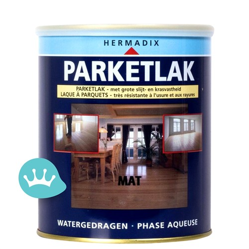 Hermadix Parketlak - Mat - 750 ml