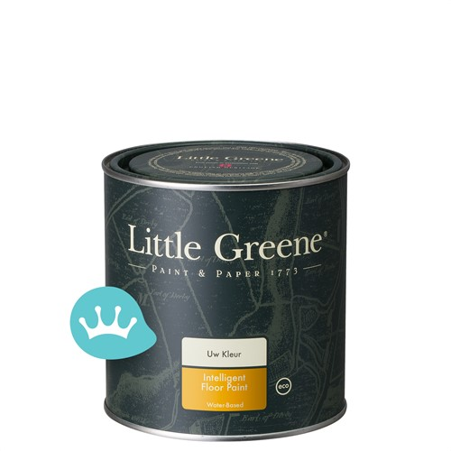 Little Greene Intelligent Floor Paint - Mengkleur - 1 l